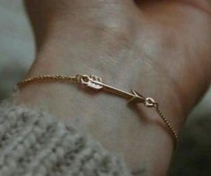 arrow, girly, and gold image