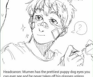 tumblr, puppy eyes, and opm image