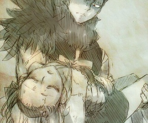 fairy tail, gajevy, and gajeel redfox image