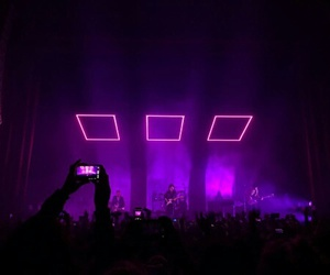 purple, concert, and theme image
