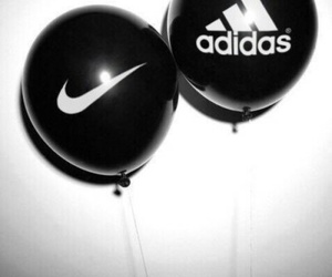 adidas, black, and nike image