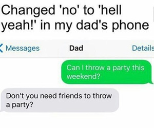 dad, friend, and funny image