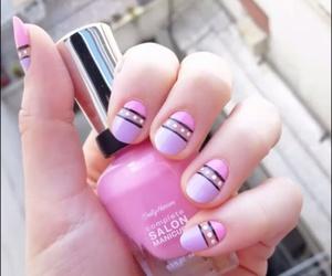 argentina, nail polish, and pink image