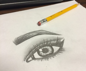 draw, drawings, and eye image