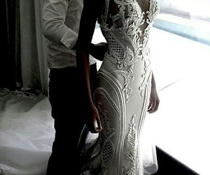 beautiful, weding dress, and dress image