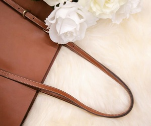 bag, design, and leather image