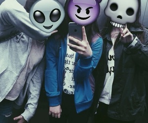 grunge, dark, and friends image