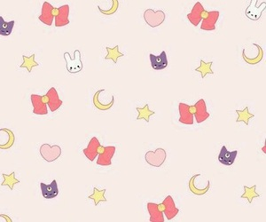 sailor moon, wallpaper, and kawaii image