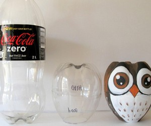 owl, diy, and bottle image