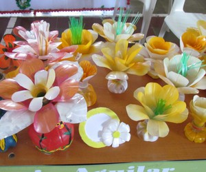 plastic bottles, diy projects, and recycled plastic bottles image