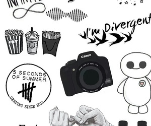 Collage, we heart it, and overlays image
