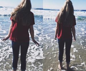 cali, girl, and ocean image