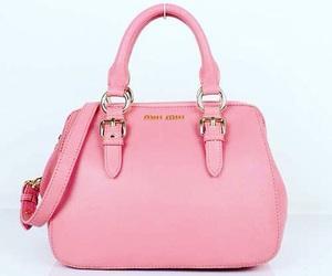 fashion, handbag, and pink image