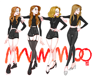 fanart and mamamoo image