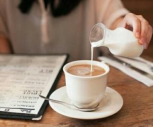 coffee, milk, and food image