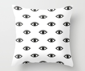 eyes, throw pillows, and couch pillows image