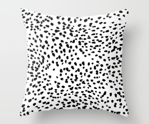black and white, couch pillows, and sofa pillows image
