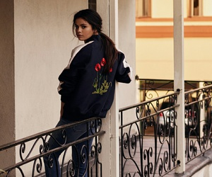 adidas, girl, and jacket image