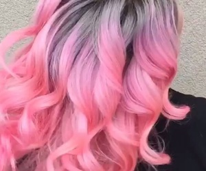colours, nice, and pinkhair image