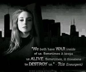 insurgent, divergent, and quote image
