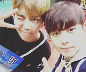 kpop, chaejin, and suwoong image