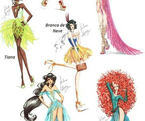 princess, disney, and fashion image