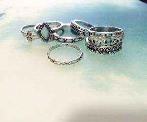 boho, jewelry, and fun image