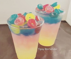 drink, candy, and food image