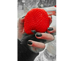 fresas, red, and rojo image