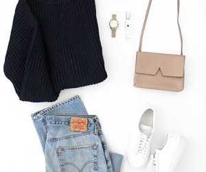 fashion, minimal, and outfit image