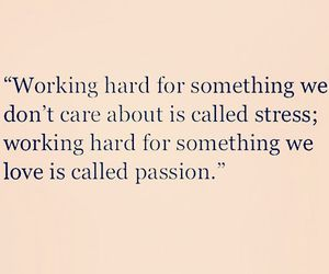 motivation, passion, and stress image