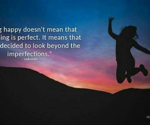 happy, quotes, and perfect image