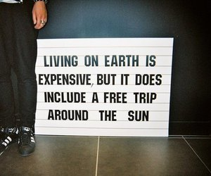 quotes, sun, and earth image