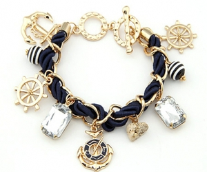 accessories, anchor, and bracelet image