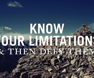 quotes, limitations, and defy image