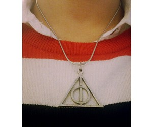 fandom, harry potter, and necklace image