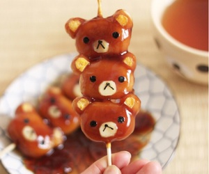 food, japan, and rilakkuma image