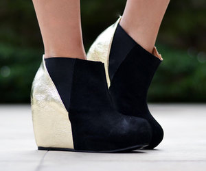 booties, fashion, and shoes image