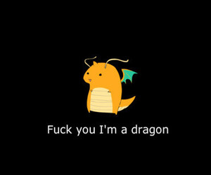 dragon, you, and cute image
