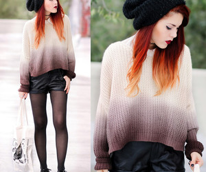 sweater, creepers, and grunge image