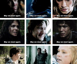 tv series, the hundred, and the 100 image