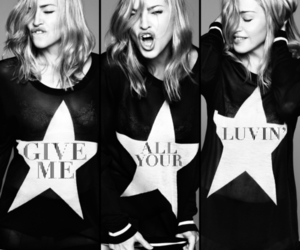 madonna, give me all your luvin, and mdna image