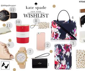 fashion, girly, and kate spade image