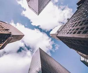 city, sky, and skyscraper image