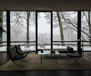 winter, home, and house image