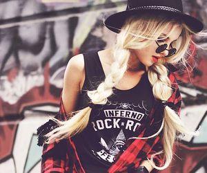 fashion, grunge, and rock image