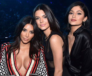 kendall jenner, kim kardashian, and kardashian image