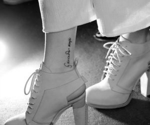 tattoo and shoes image