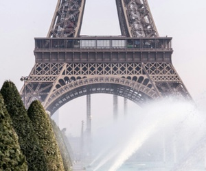 eiffel tower, romantic, and love image
