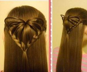 hairstyle, tutorial, and valentine's hairstyles image